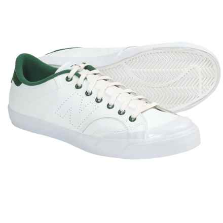 New Balance Pro Court Lite Shoes (For Men) in White/Green - Closeouts