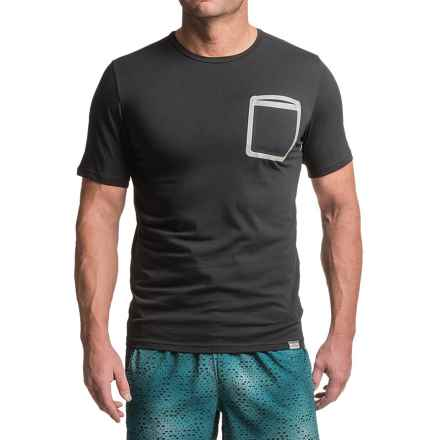 New Balance Push the Past T-Shirt - Short Sleeve (For Men) in Black - Closeouts