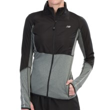 New Balance Raptor Running Jacket (For Women) in Anthracite - Closeouts