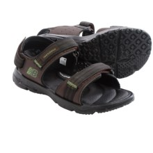 New Balance Rev Plush H20 Sport Sandals (For Men) in Dark Brown - Closeouts