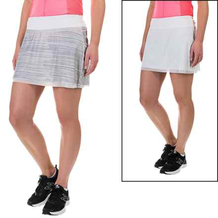 New Balance Rosewater Reversible Skirt (For Women) in White - Closeouts
