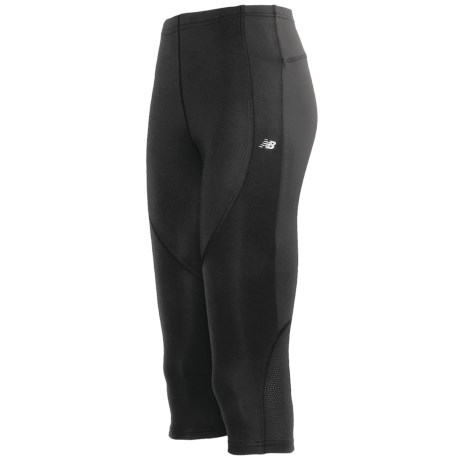 New Balance Running Capris (For Women) in Black