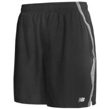 "New Balance Running Shorts - 7"" (For Men) in Black - Closeouts"