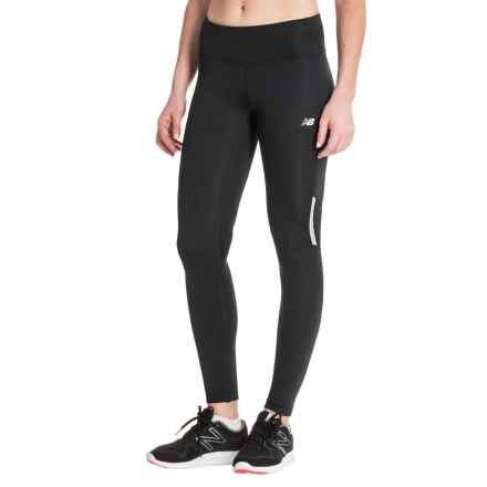 New Balance Running Tights (For Women) in Black - Closeouts