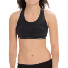 New Balance Seamless Genius I Sports Bra - High Impact (For Women) in Black - Closeouts