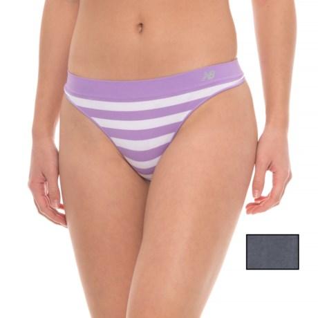 New Balance Seamless Panties - 2-Pack, Thong (For Women)