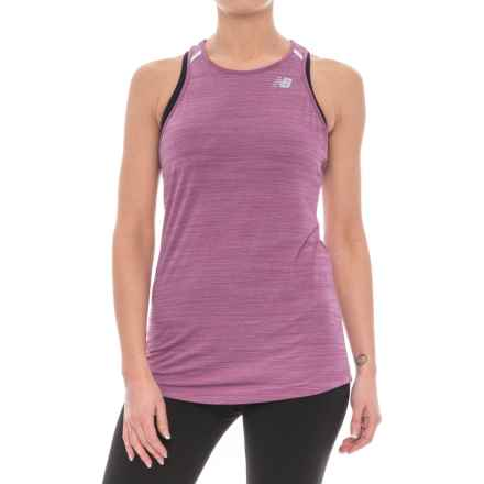 New Balance Seasonless Tank Top (For Women) in Mulberry Heather - Closeouts