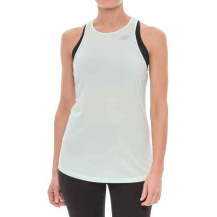 New Balance Seasonless Tank Top (For Women) in Water Vapor Heather - Closeouts