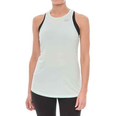New Balance Seasonless Tank Top (For Women) in Water Vapor Heather - Closeouts