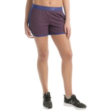 New Balance Semi-Fitted High-Performance Shorts (For Women) in Lazarite - Closeouts