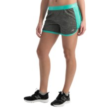 New Balance Semi-Fitted High-Performance Shorts (For Women) in Tidepool - Closeouts