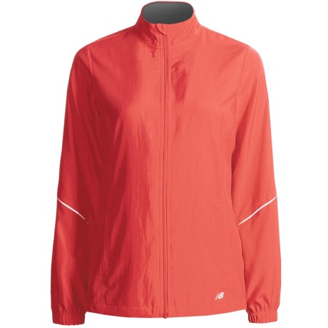 New Balance Sequence 2.0 Jacket (For Women) in Cayenne