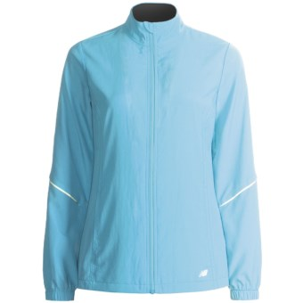 New Balance Sequence 2.0 Jacket (For Women) in Grotto Blue