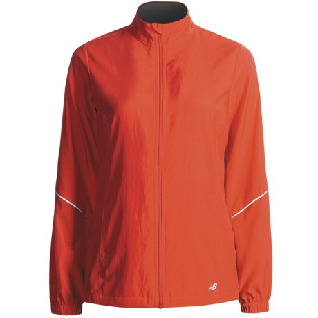 New Balance Sequence 2.0 Jacket (For Women) in Tomato