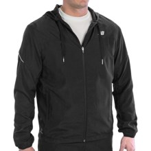 New Balance Sequence Jacket (For Men) in Black - Closeouts