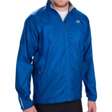 New Balance Shadow Run Jacket (For Men) in Optic Blue - Closeouts