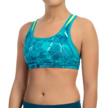New Balance Shapely Shaper Sports Bra - High Impact (For Women) in Sea Glass - Closeouts