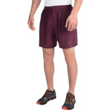 New Balance Shift Shorts (For Men) in Burgundy/Black - Closeouts