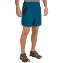 New Balance Shift Shorts (For Men) in Deep Water/Black - Closeouts