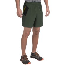 New Balance Shift Shorts (For Men) in Defense Green - Closeouts