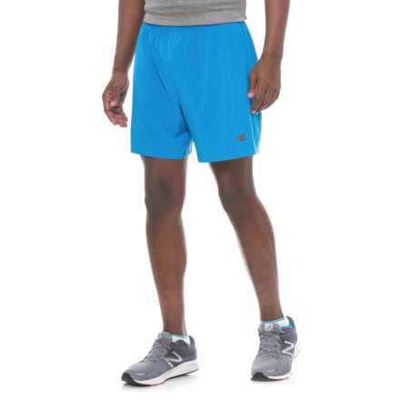 New Balance Shift Shorts (For Men) in Electric Blue - Closeouts