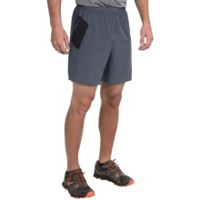 New Balance Shift Shorts (For Men) in Harbor Blue/Black - Closeouts