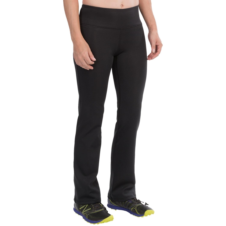 new balance pants. new balance slim bootcut pants (for women) in black t