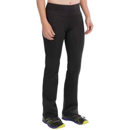 New Balance Slim Bootcut Pants (For Women) in Black - Closeouts