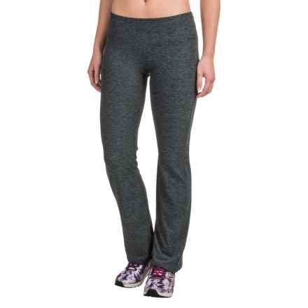 New Balance Slim Pants (For Women) in Black/Grey - Closeouts