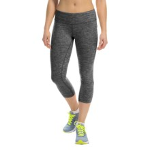 New Balance Space-Dye Capris (For Women) in Black Grey - Closeouts
