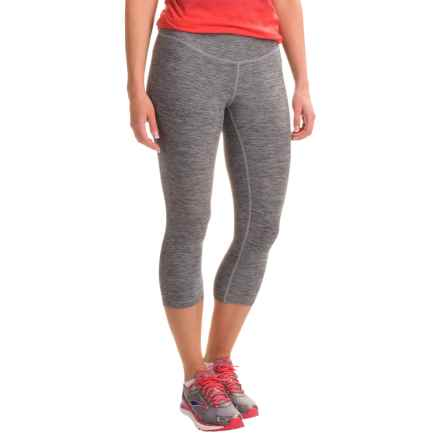 New Balance Space-Dyed Capris (For Women) in Anthracite - Closeouts