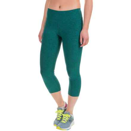 New Balance Space-Dyed Capris (For Women) in Galaxy - Closeouts