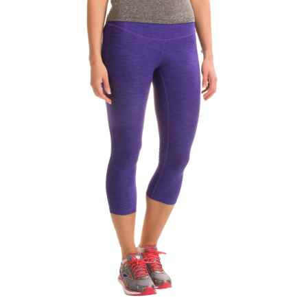New Balance Space-Dyed Capris (For Women) in Spectral - Closeouts