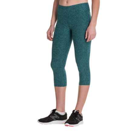New Balance Space-Dyed Capris (For Women) in Tidepool - Closeouts