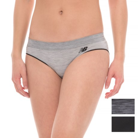 New Balance Space-Dyed Seamless Panties - Hipster, 3-Pack (For Women) in Multi