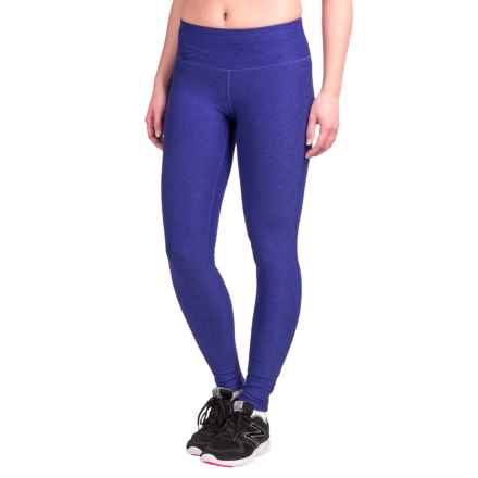 New Balance Space-Dyed Tights (For Women) in Spectral - Closeouts