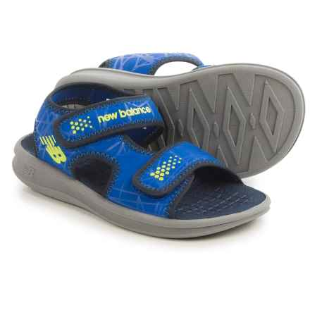 New Balance Sport Sandals (For Little and Big Kids) in Grey/Blue - Closeouts