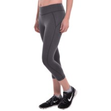 New Balance Spree Capris (For Women) in Black Heather - Closeouts