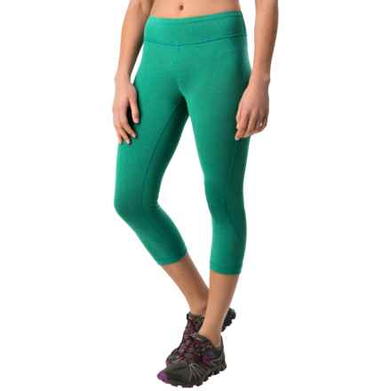 New Balance Spree Capris (For Women) in Seagreen Heather - Closeouts