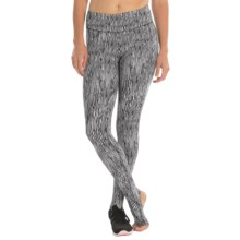 New Balance Studio Tights (For Women) in Black/White - Closeouts