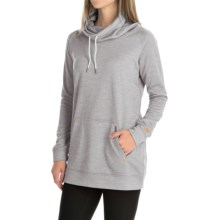 New Balance Sunrise Sweatshirt (For Women) in Light Grey Heather - Closeouts