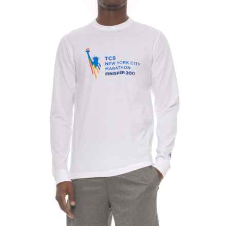 New Balance TCS Shirt - Long Sleeve (For Men) in White - Closeouts