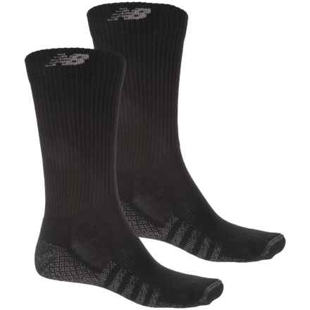 New Balance Technical Elite CoolMax® Socks - 2-Pack, Crew (For Men) in Black - 2nds