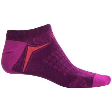 New Balance Technical Elite Socks - Below the Ankle (For Women) in Purple/Fuchsia - Closeouts