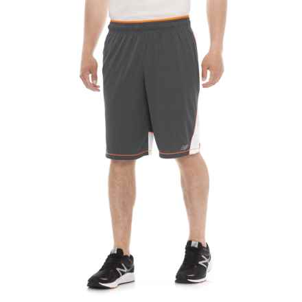 New Balance Tenacity Knit Shorts (For Men) in Gray Lead - Closeouts