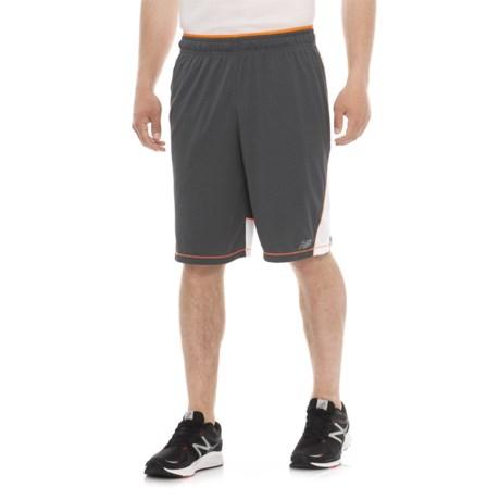 New Balance Tenacity Knit Shorts (For Men) in Gray Lead