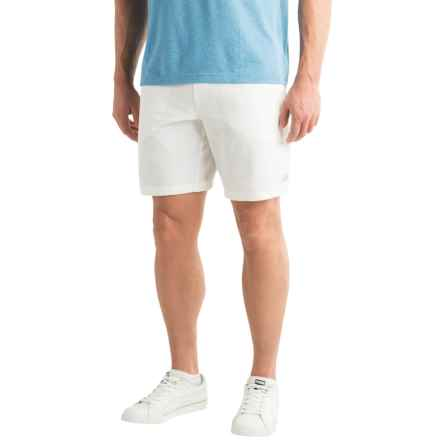 "New Balance Tournament Shorts - 9"" (For Men) in White - Closeouts"
