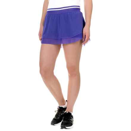 New Balance Tournament Skort (For Women) in Spectral Blue - Closeouts