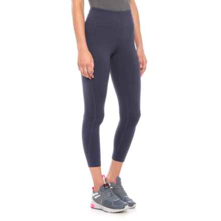 New Balance Transform High-Rise Capris (For Women) in Navy - Closeouts