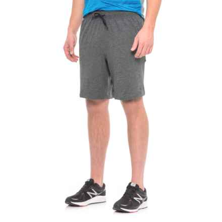 New Balance Transit Shorts (For Men) in Hc Heather Charcoal - Closeouts